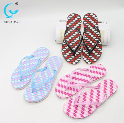 Flip flops with pvc upper medusa slipper low price chappal ladies sandals in dubai lady sandal 2017