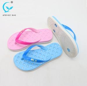 New design wholesale slipper shoes fancy ladies footwear summer sandals women