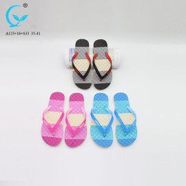 Fancy footwear comfort flat wedges sandals new design wholesale women slipper shoes