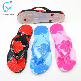 Indoor chappal flip flop new design pvc sandals summer women ladies sandals