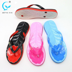 2018 new design flip flop eva wedge indoor chappal summer sandals women