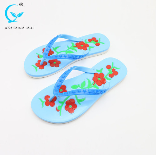 Fancy chappal slippers nature walk shoes women lady sandal flip flop
