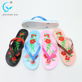 Ladies new style fancy chappal in china slippers shoes sandals beach