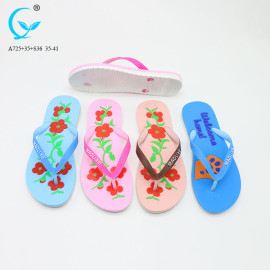 Flip flops wholesale chappal ladies slippers new style sandals in china