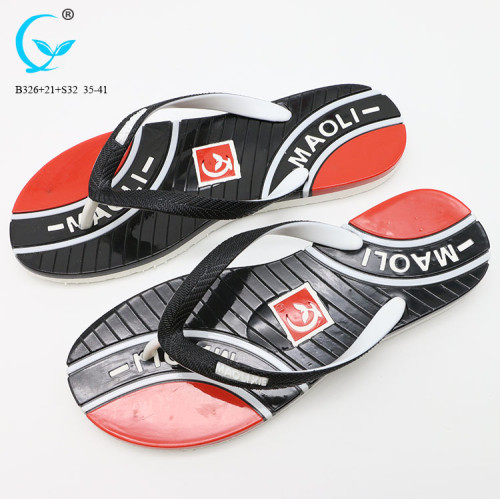 New style rubber flip flops wholesale chappal ladies pvc slippers