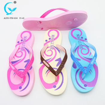 Folding sandals chappal design slippers beach crystal strap flip flops
