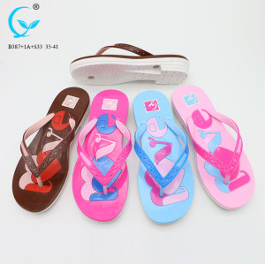 Home shoes new chappal 2018 new sandal outdoor comfortable slipper women