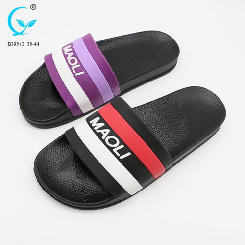 Flip flop pvc strip ladies chappal 2018 factory price cheap women slippers
