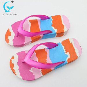 Ladies new women chappals slippers shoes footwear 2018 flip flops sandals