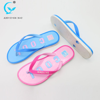 Slippers from china custom private label slide sandals sport flip flops