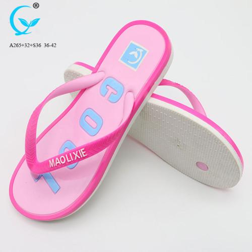 Slippers from china custom private label slide sandals sport flip flops