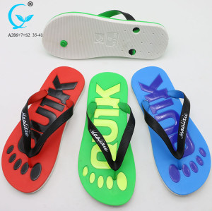 Slippers from china custom private label slide sandals cheap women sport flip flops