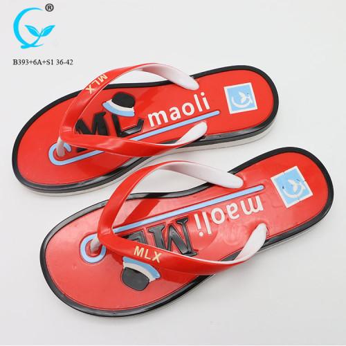 Ladies pvc chappal flip flops girls pvc slipper sandals beach women 2018