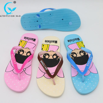 Barefoot wedge flipflops female fashion summer sandals beach slippers