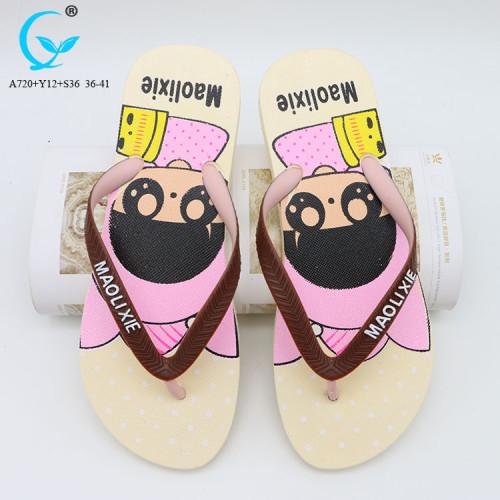 Barefoot wedge flipflops female fashion summer sandals beach slippers