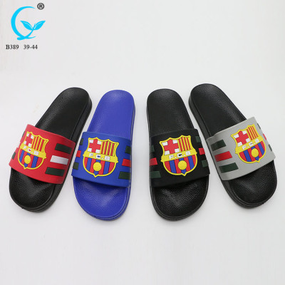 Glass flip flop for adult nude men summer trendy slipper slides men sandals