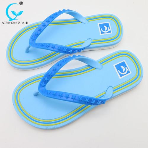 PVC chappal 2018 flip flops rubber slippers beach sandal for ladies