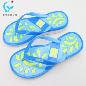 Beach sandals indoor slippers for women 2018 wholesale shoe flip flops