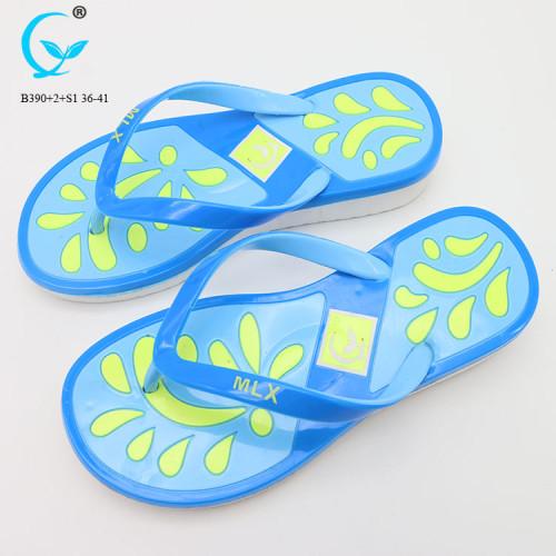 Beach sandals indoor slippers for women 2018 wholesale shoe flip flops