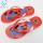 PVC sandals summer flip flops flat shoes women one strap beach slippers