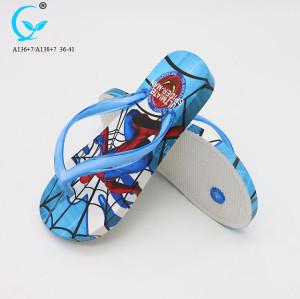 2017 comfort sandals 1 toe slippers girls flat beach slipper shoes