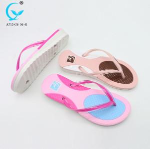 2017 indoor slippers for women acupressure plastic slipper 2 color