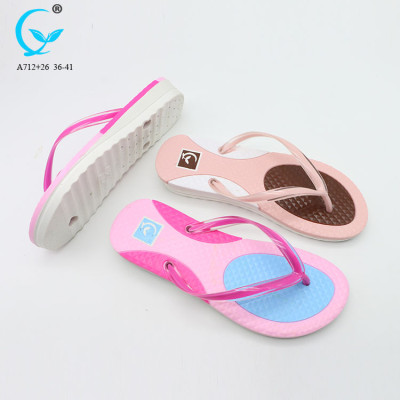 2017 indoor slippers for women acupressure plastic slipper 2 color