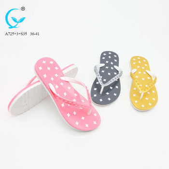 ladies  butterfly slipper indian sandal shoes girl beach slippers