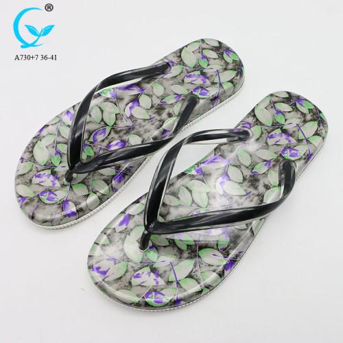 air blowing slippers for women beach sandal for ladies cheap sandal thailand