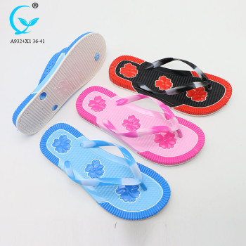 accupressure chappal transparent ladies flip flop slipper plain handicraft slippers