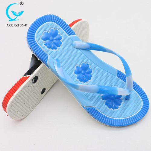 accupressure chappal transparent ladies flip flop slipper plain handicraft slippers