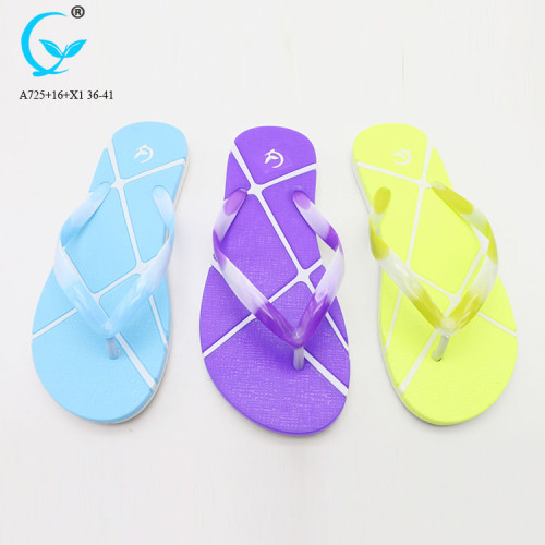 plastic sandals for 2018 women nice floral rubber beach slippers sandals shoes women