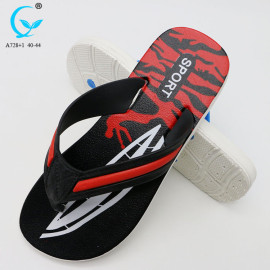 blue men sandals fancy cheap summer slipper latest design sandal for men