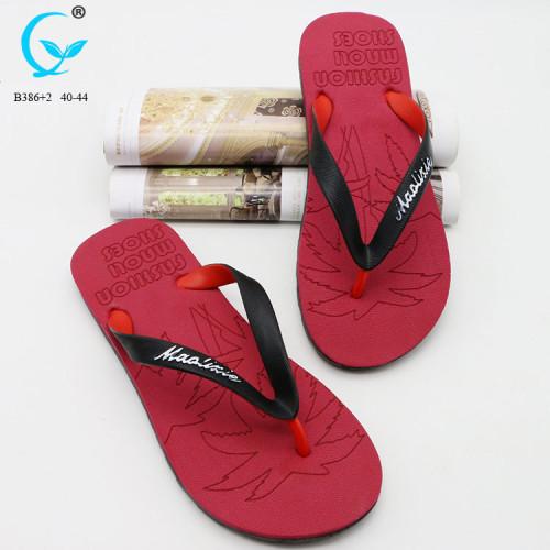 pvc sandal stylish shoes for men latest design mens sandal slipper