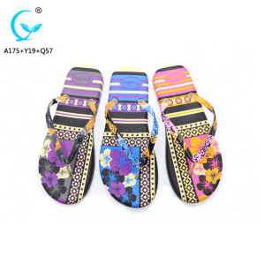 Wholesale china shoes comfortable soft women flip flops