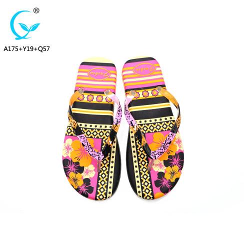 Wholesale china shoes comfortable soft women flip flops