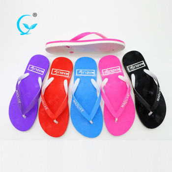 2017 hot sale new fashion hot styles women beach slippers flip flops