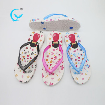 Factories in china the newest lady embossed logo cheap women anime flip flops sandals slippers