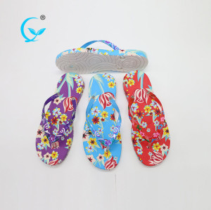 2017 high quality summer woman beach cheap flip flops slippers wholesale