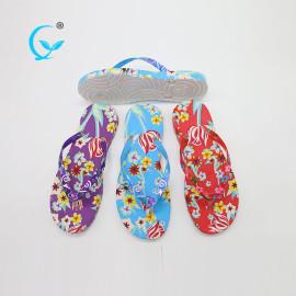 2017 high quality summer woman beach cheap flip flops slippers wholesale