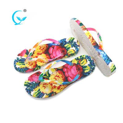 Latest ladies slipper designs casual fashion style wholesale flip flops
