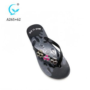 Latest Factory Direct Discount PVC traps Plastic Slippers flip flop sandals