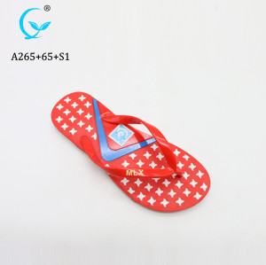 Wholesale PVC Plastic Flip Flops Slipper For ladies