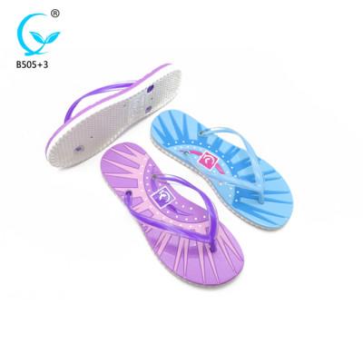 New design slippers fancy ladies chappal picture flip flops