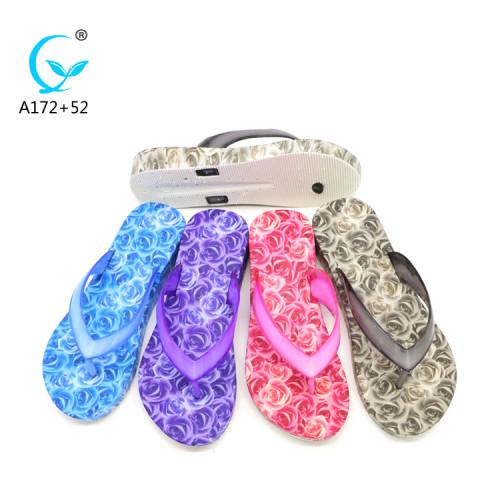New printed 2018 china chappal for sale antistatic pvc slipper