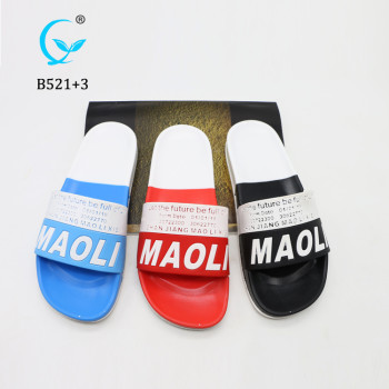 Men Slides Footwear,Custom Printed Men Eva Slides Slipper, Custom Logo Plain Slide Sandal