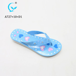 High quality customize service summer beach flip flops new design non-slip slippers sandal