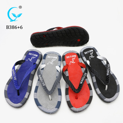 Spring Summer Spa Fashion Walking Beach Men Rubber Sandals Flip Flops slipper