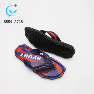 Thick sole rubber tire men thong flip flop slipper sandals