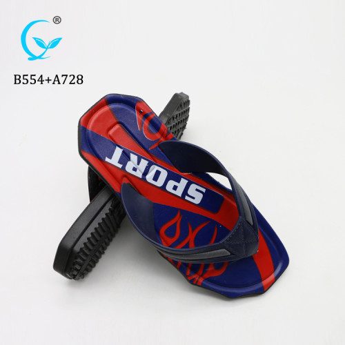 Thick sole rubber tire men thong flip flop slipper sandals